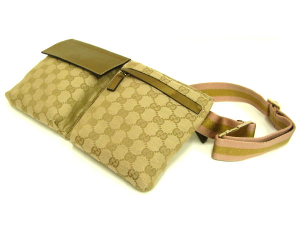 check out 81f1d 5a714 グッチ ウエストポーチバッグ GUCCI ウエストポーチバッグ